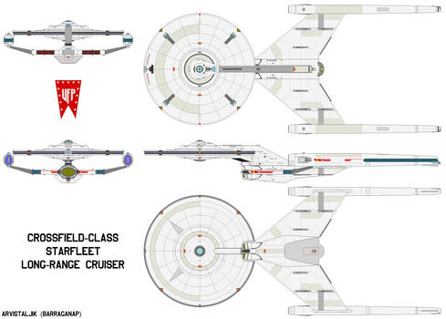 Crossfield-class Starship Advanced (TOS AU)
