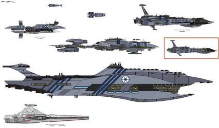 Separatist Alliance Capital Ships (Clone Wars AU)