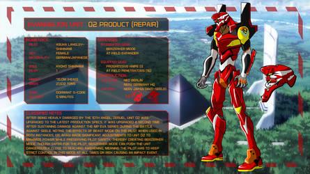Evangelion Unit 02 (Repair) [Eva AU]