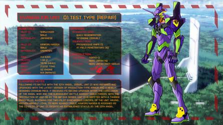 Evangelion Unit 01 (Repair) [Eva AU]