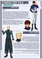 Char and Amuro [Gundam 00 AU]