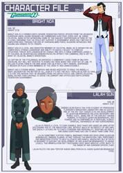 Bright and Lalah [Gundam 00 AU]