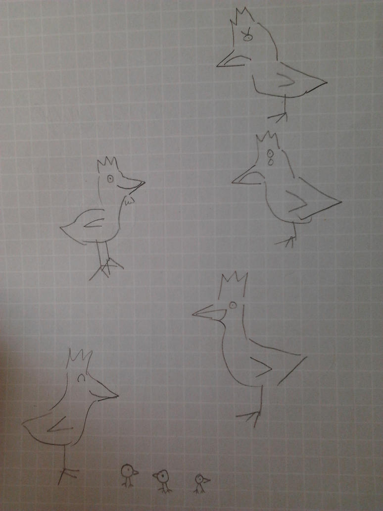 Chicken Sketches by a-map