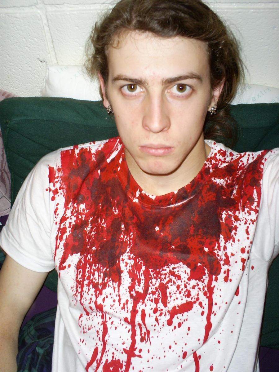Slit-throat Shirt by Xotrekun