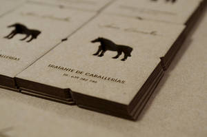 Detail lasercut business card by Laserlab21
