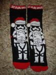 Storm trooper socks by JanusMouse