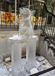 Little ice sculpture by JanusMouse