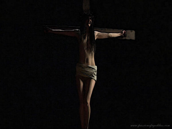 Suffering On The Crucifi By Passionofagoddess