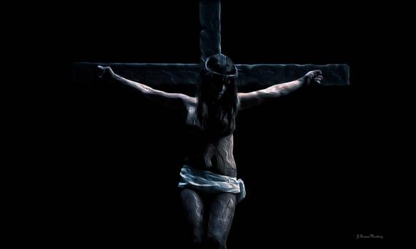 Metal crucifix