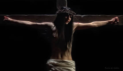 Crucifixion In Dark Bonus Still by passionofagoddess