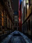 Gamla stan in the night II 650 by passionofagoddess