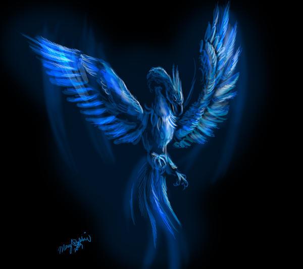 Blue Phoenix By TheGreatandMightyOz On DeviantArt