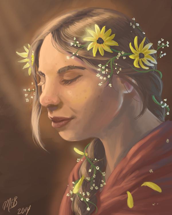 flower crown by TheGreatandMightyOz
