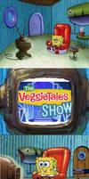 SpongeBob Watches The VeggieTales Show