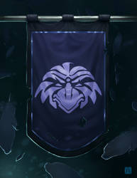 Raven Lord Flag