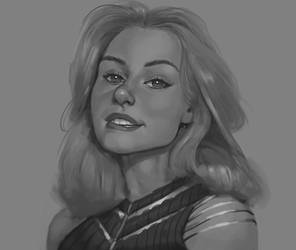 Gray Scale Practice-Dame
