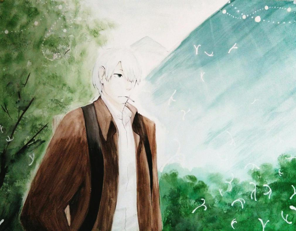 Mushishi - Ginko by OneAngele