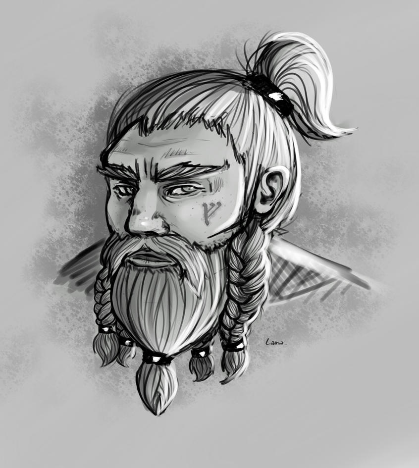 Commission : Da' Dwarf by Roxace