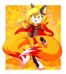 \*Commission*/: Angel The Fox by xXKenTheWolfXx