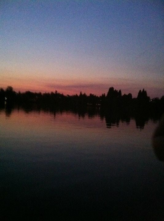 Evening At Greenlake, Seattle .1 by Scorpion31