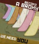 Become a Brony