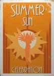 Summer Sun Celebration Poster