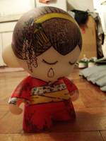 Geisha Munny by gumballmadness