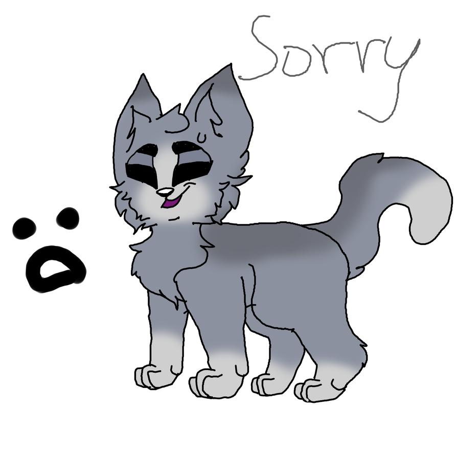 Sorry... by wafflecatdraws