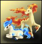 Ponyta and Rapidash