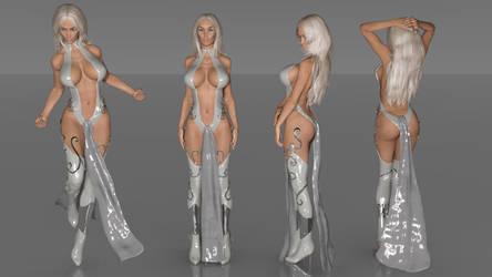 Cygnus Costume 2 Study by Tharcion