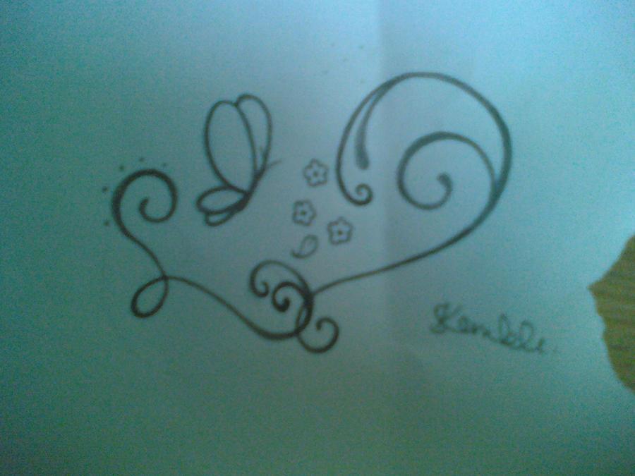 number 4 tattoo designs. Black Bedroom Furniture Sets. Home Design Ideas