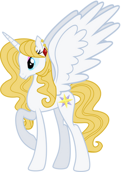 Alicorn Princess Bluebelle (R63 Blueblood)