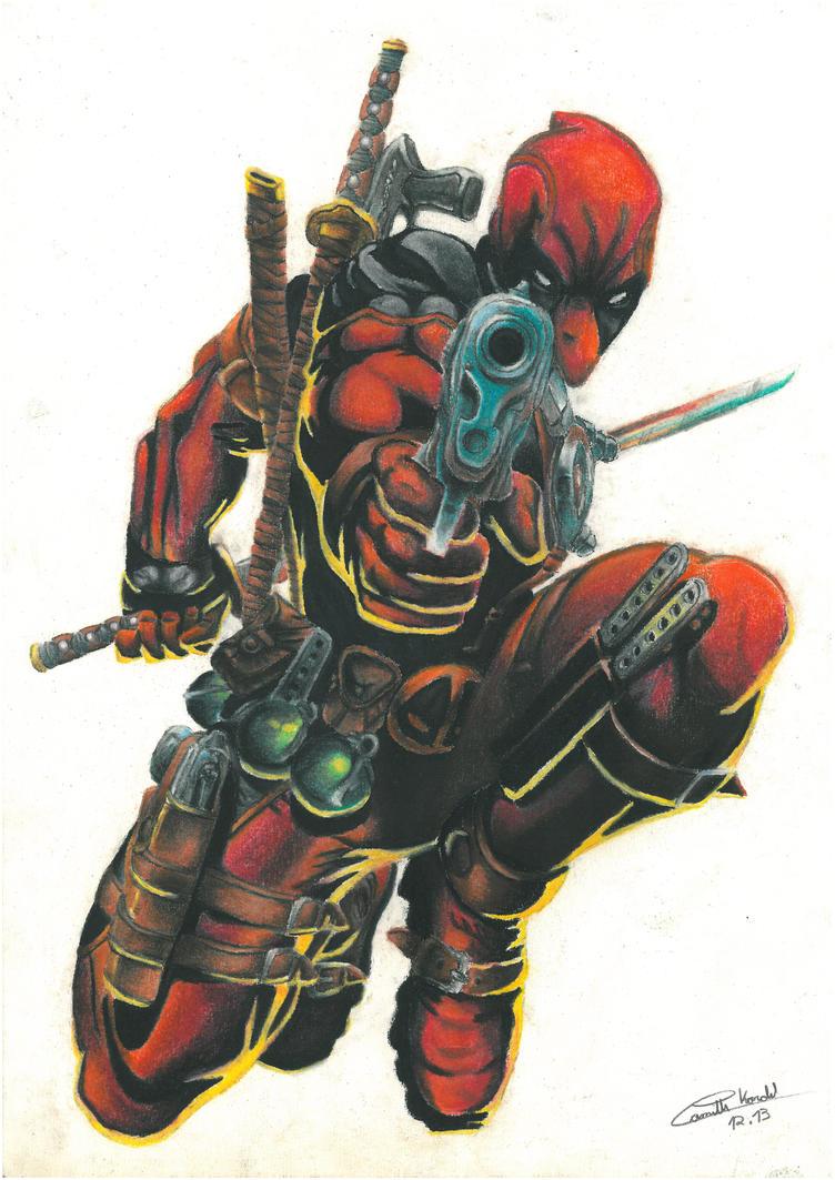 Deadpool by KyraXIII