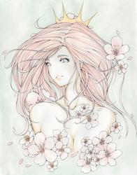 Sakura Queen by essnbee