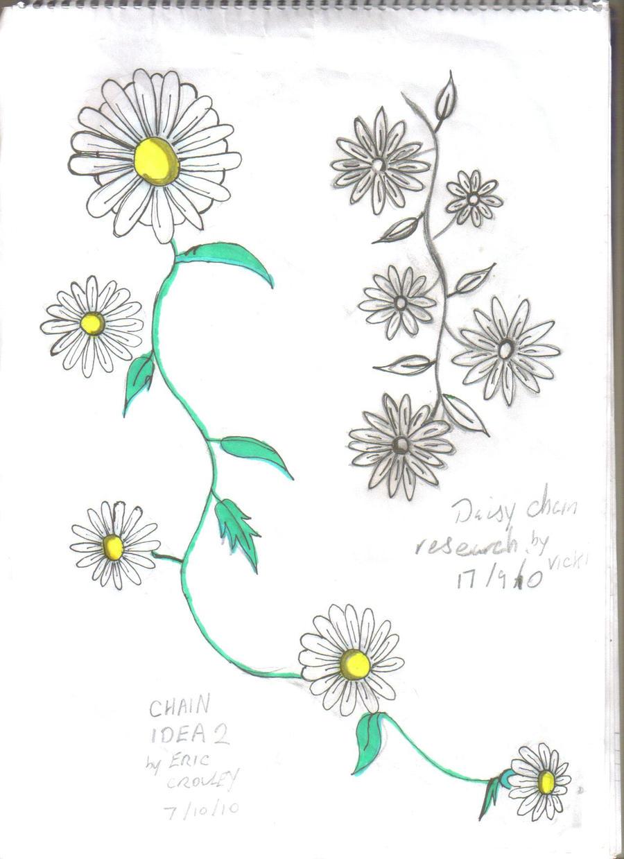d9338b58a Daisy Tattoos Designs with regard to daisy chain tattoo 1demidemonrico09 on  deviantart