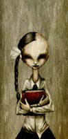 school girl by ma4u4a
