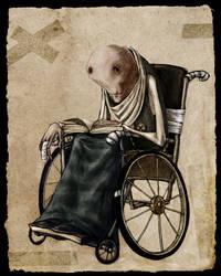 wheelchair by ma4u4a