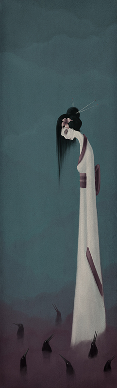 geisha by ma4u4a