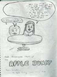 apple junky goes on a date