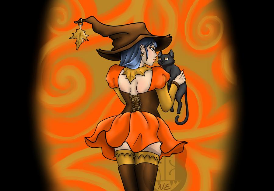 Autumn Spellcaster Viv by KittyKillsAll
