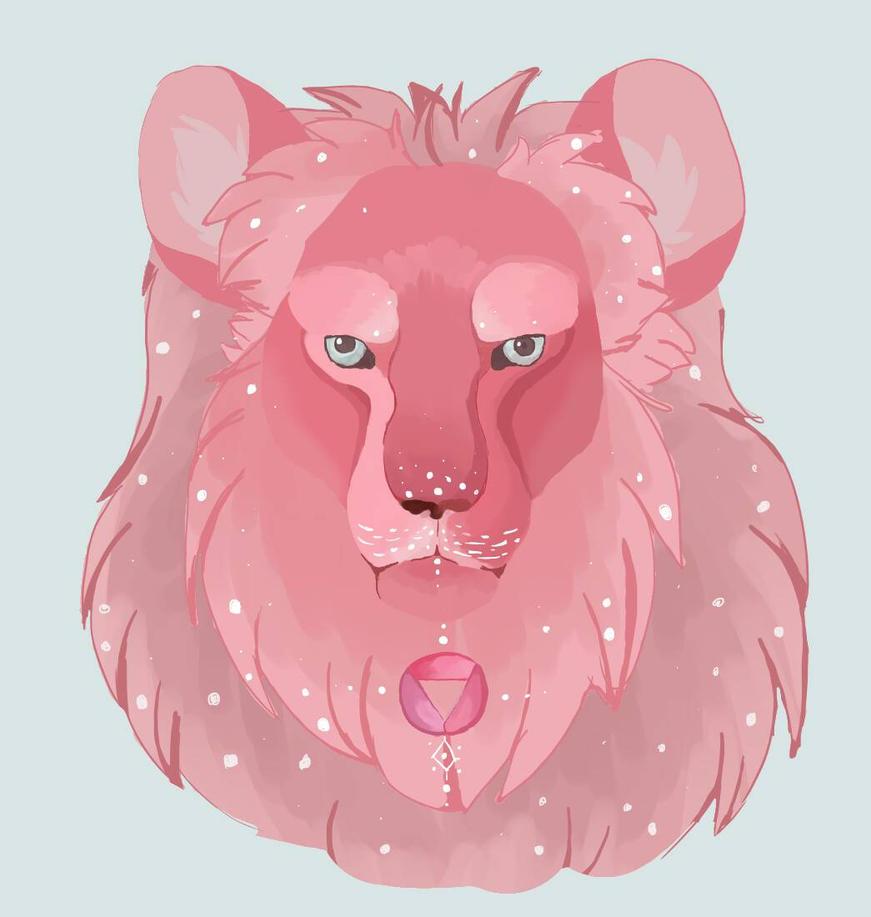 Steven Universe Lion by Heimii