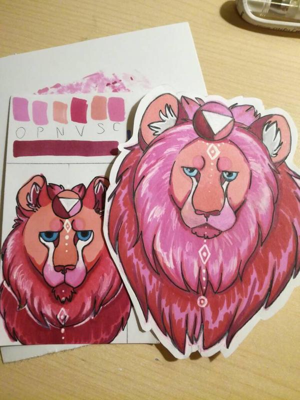 Lions by Heimii