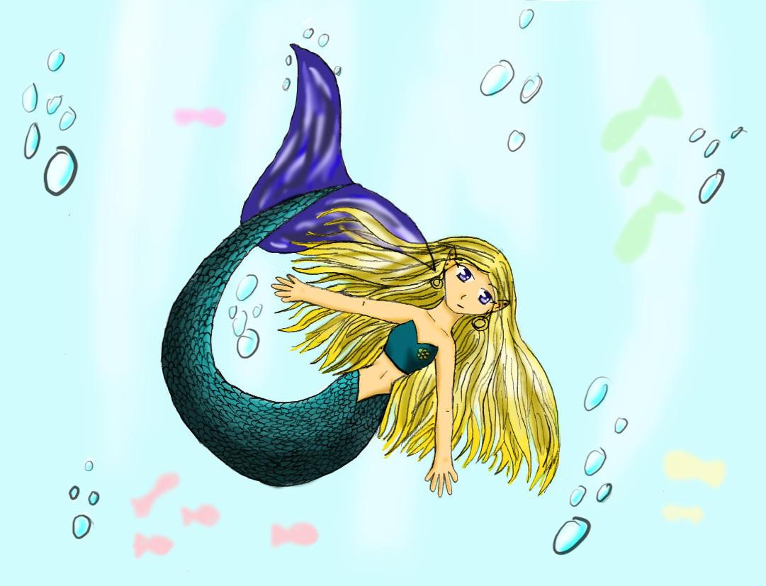 Mermaid Princess By Fornwalt On Deviantart Mermaid Princess Drawings