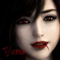 Yuna Icon Vampire by yourlittleangel112