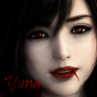 Yuna Icon Vampire by yourlittleangel112