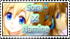 Sora x Namine Stamp by yourlittleangel112