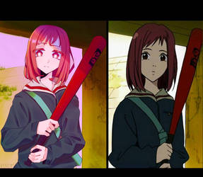 mamimi from flcl redraw