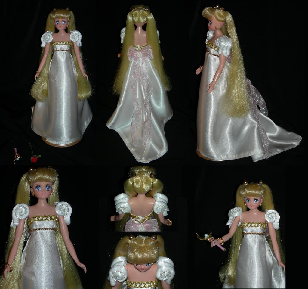 sailor moon custom princess serenity gown by elynve on deviantart