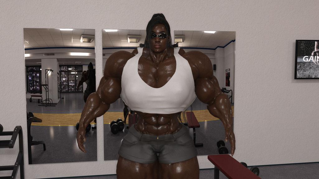 Tabitha Gym 1 by aldebaran086