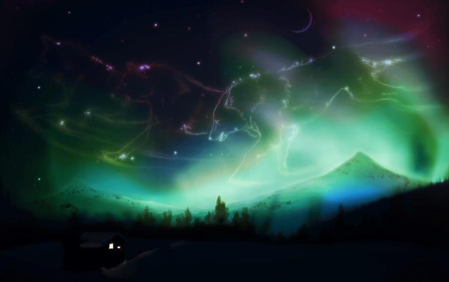 Aurora Borealis by gethro92